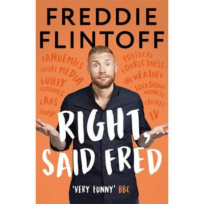 Freddie Flintoff: Right, Said Fred image number 1