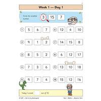 KS1 Maths Daily Practice Book: Year 1 Autumn Term