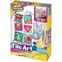 Mini Magnetic Tile Art