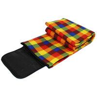 Tartan Waterproof Picnic Blanket: Assorted