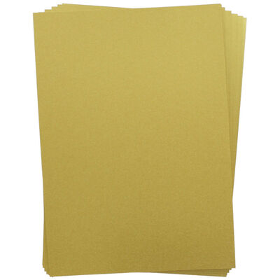 A4 Centura Metallic Pale Gold Card: 10 Sheets image number 2