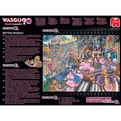 Wasgij Destiny 16 Old Time Rockers 1000 Piece Jigsaw Puzzle image number 4