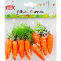 Glitter Carrots - 8 Pack