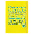 A5 Case Bound PU Precious Child Notebook image number 1