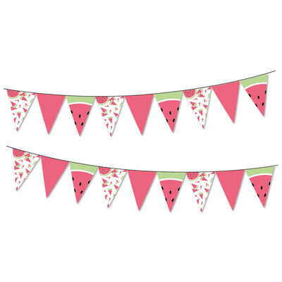 Watermelon Bunting 3m  image number 2