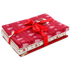 Christmas Print Fat Quarters: Pack of 5 image number 1