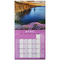 Beautiful Ireland 2022 Square Calendar and Diary Set