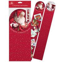 Christmas Card Holder: Pack of 2