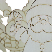 Colour Your Own Christmas Character: Pack of 3