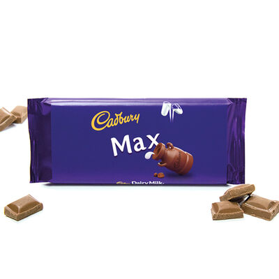 Cadbury Dairy Milk Chocolate Bar 110g - Max image number 2