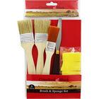 8 Piece Brush and Sponge Set image number 1