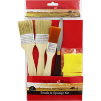8 Piece Brush and Sponge Set