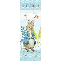 2021 Slim Calendar: Peter Rabbit