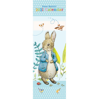 2021 Slim Calendar: Peter Rabbit image number 1