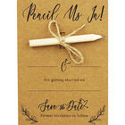 10 Kraft Wedding Save the Date Cards with Envelopes image number 2