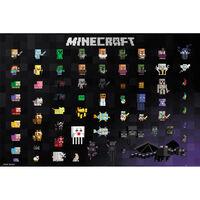 Minecraft Pixel Sprites Poster