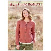 Hayfield Bonus DK: Women's Sweater Knitting Pattern 10043