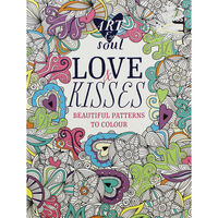Art and Soul Love and Kisses Colouring Book