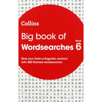 Collins Big Book of Wordsearches: Book 6