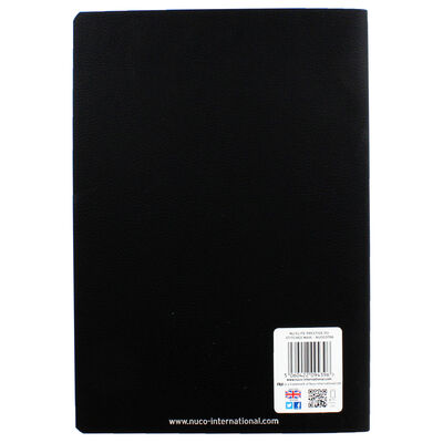 NU Elite Black Prestige PU Stitched Maxi Journal image number 3