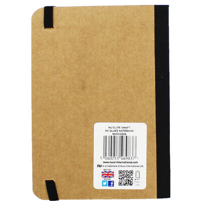 Nu Kraft A6 Notebook Manilla  image number 3