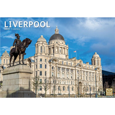 Liverpool A4 Calendar 2021 image number 1