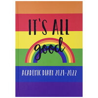 A5 It's All Good 2021-2022 Day a Page Diary