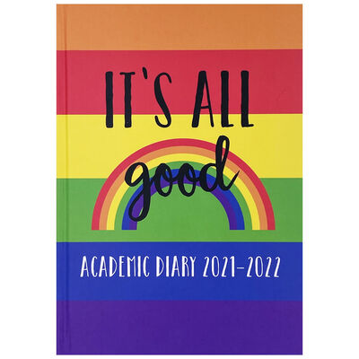 A5 It's All Good 2021-2022 Day a Page Diary image number 1