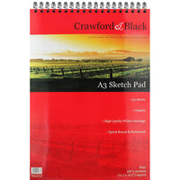 Crawford & Black - A3 Sketch Pad
