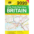 AA: Large Scale Road Atlas Britain 2020 image number 1