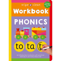 Wipe Clean Workbook: Phonics