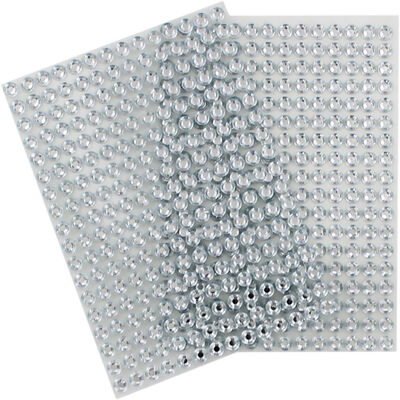 Silver Gem Stickers: Pack of 2 image number 1