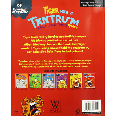 Tiger Has a Tantrum: A Book About Feeling Angry image number 2