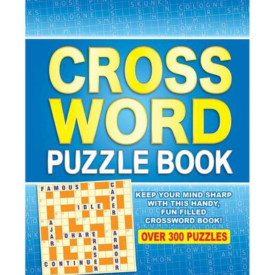 Crossword Puzzle Book: Over 300 Puzzles image number 1