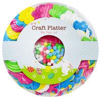 836 Piece Easter Craft Platter