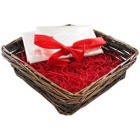 Small Brown Square Hamper Basket