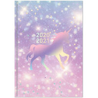 A5 Unicorn Week to View 2020-21 Academic Diary
