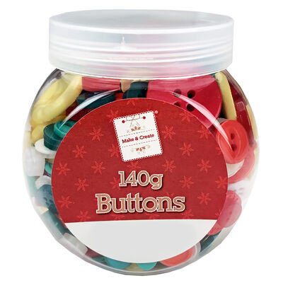 Assorted Jar of Buttons