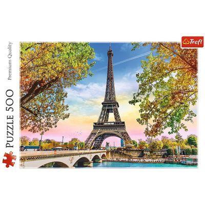 Romantic Paris 500 Piece Jigsaw Puzzle image number 2