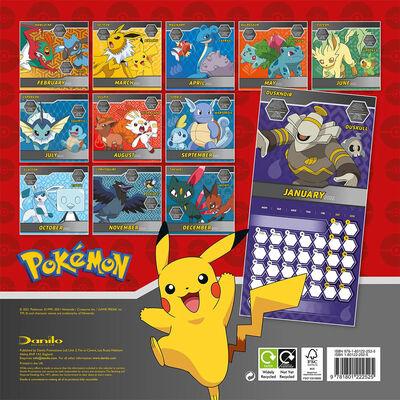 Official Pokemon 2022 Square Calendar image number 3