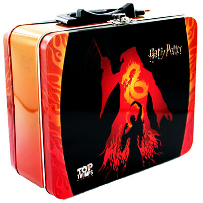 Harry Potter 30 Witches and Wizards Top Trumps Collectors Tin image number 1