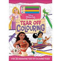 Disney Princess Tear Off Colouring Pad