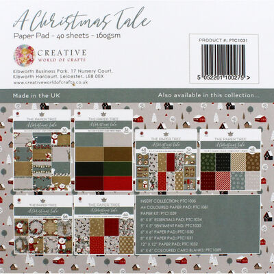 A Christmas Tale Paper Pad - 8x8 Inch image number 4