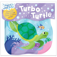 Turbo Turtle: Magical Bath Book