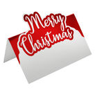 Red Foil Merry Christmas Place Cards - 10 Pack image number 2
