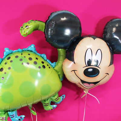 27 Inch Mickey Mouse Super Shape Helium Balloon image number 3