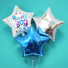 18 Inch Silver Star Helium Balloon image number 3