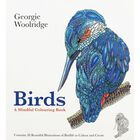 Birds: A Mindful Colouring Book image number 1