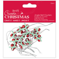 Jingle Bell Clusters: Pack of 12