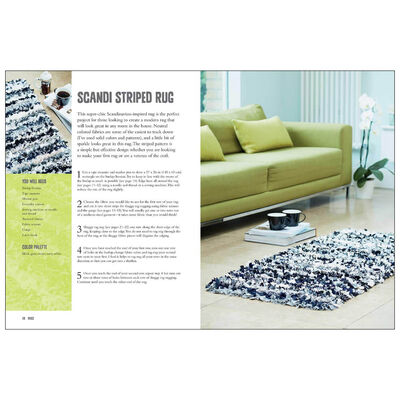 Rag Rugs, Pillows, and More image number 2